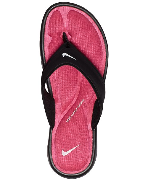 c6c1d69690dc Nike Women s Ultra Comfort Thong Flip Flop Sandals from Finish Line ...