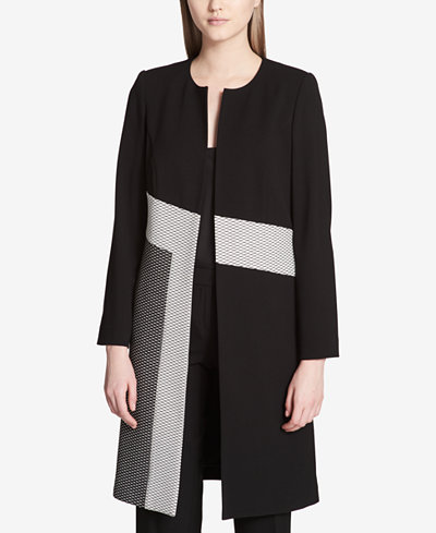 Calvin Klein Colorblocked Topper Jacket