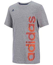 adidas Logo-Print T-Shirt, Little Boys