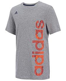 adidas Logo-Print T-Shirt, Toddler Boys