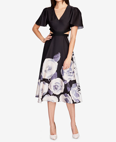 RACHEL Rachel Roy Cutout Midi Dress, Created for Macy's