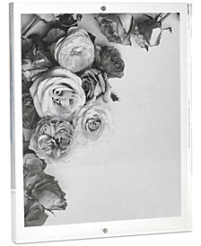 "Martha Stewart Collection Acrylic 8"" x 10"" Frame, Created for Macy's"