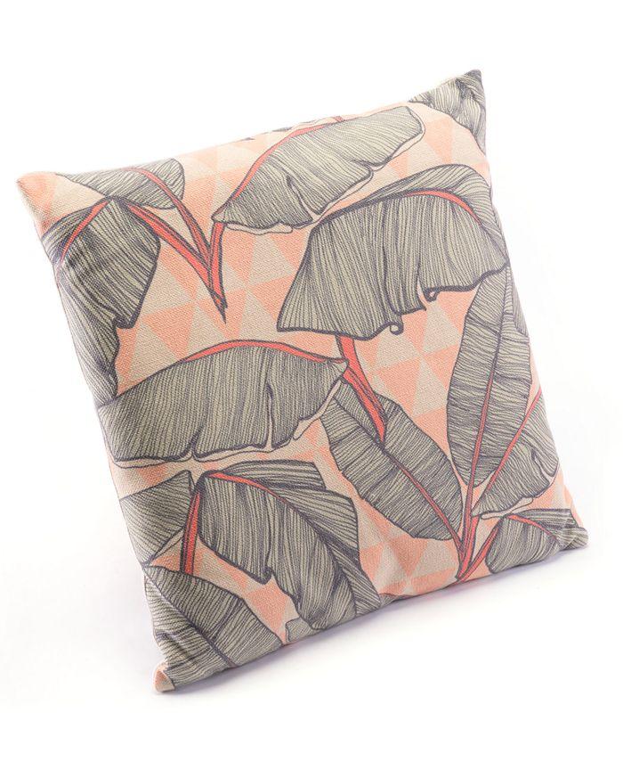 Zuo - Tropical Pink Pillow