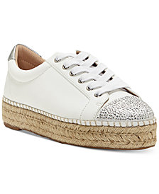 I.N.C. Women's Eliza Platform Espadrille Sneakers, Created for Macy's