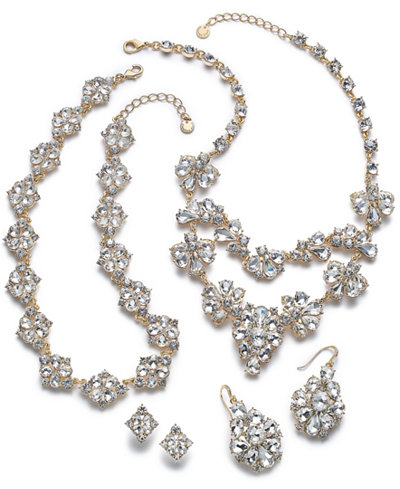 Charter Club Gold-Tone Crystal Jewelry Separates, Created for Macy's