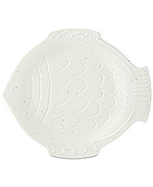 kate spade new york Cannon Street Nautical Accents Round Fish Platter