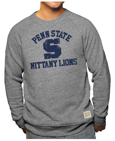 Retro Brand Men's Penn State Nittany Lions Soft Long Sleeve Crew Sweatshirt