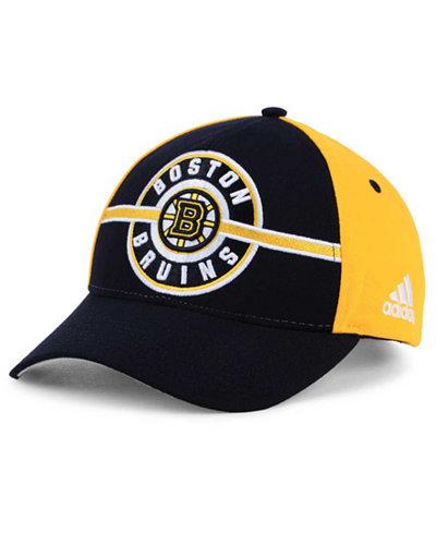 adidas Boston Bruins Circle Adjustable Cap