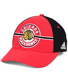 adidas Chicago Blackhawks Circle Adjustable Cap