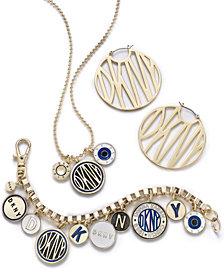 DKNY Gold-Tone Logo Jewelry Separates