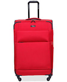 "CLOSEOUT! Revo Airborne 25"" Softside Spinner Suitcase, Created for Macy's"