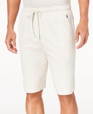 Polo Ralph Lauren Men S Supreme Comfort Pajama Shorts Sand Heather