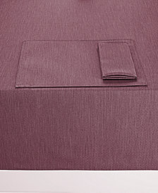 "Nortiake Colorwave Plum 60"" x 120"" Tablecloth"