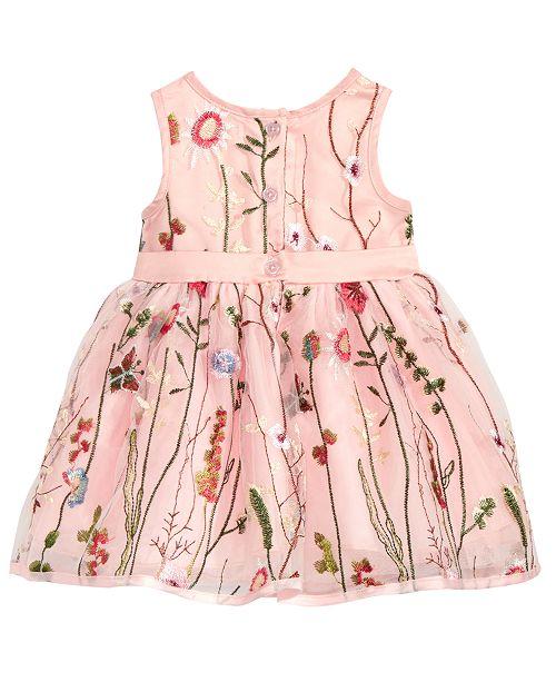 5e0dd7d07 Nanette Lepore Embroidered Mesh Dress