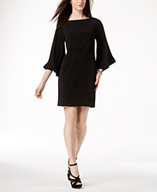 MICHAEL Michael Kors Flare-Sleeve Sheath Dress
