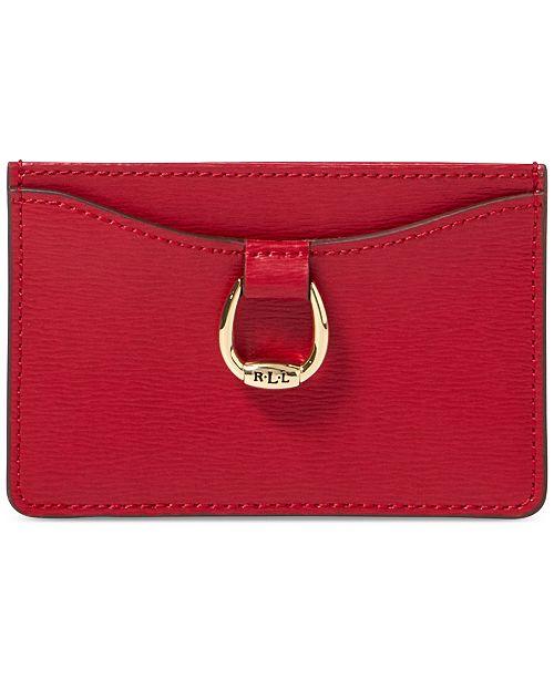 3dc3233e50 Lauren Ralph Lauren Bennington Mini Leather Card Case   Reviews ...