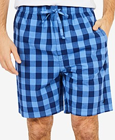 Men's Buffalo Plaid Pajama Shorts