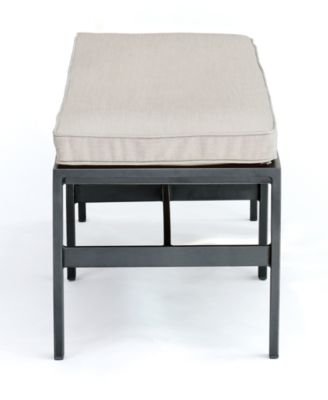 ... Marlough II Aluminum Armless Dining Bench With Sunbrella Cushion,  Created For Macyu0027s ...
