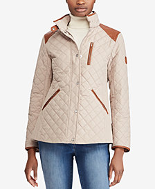 Lauren Ralph Lauren Petite Diamond-Quilted Jacket