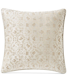 "Waterford Lancastere 18"" Square Decorative Pillow"
