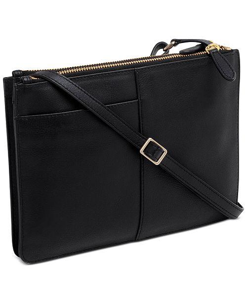 1a0ba62541 Radley London Pockets Medium Zip-Top Leather Crossbody   Reviews ...