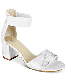 White Mountain Evie Two-Piece Dress Sandals, Created for Macy's