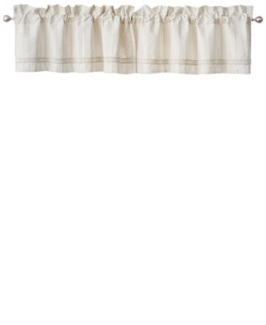 """Waterford Lancaster Tailored 18"""" x 55"""" Window Valance Bedding 5674568"""