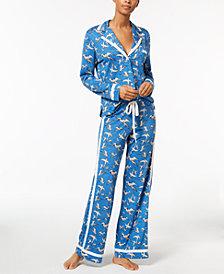 Cosabella Amore Bird-Print Pajama Set AMORP9541