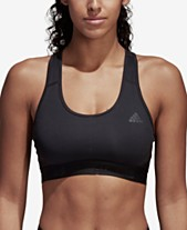 00b084c2e965f adidas AlphaSkin Racerback Medium-Impact Sports Bra