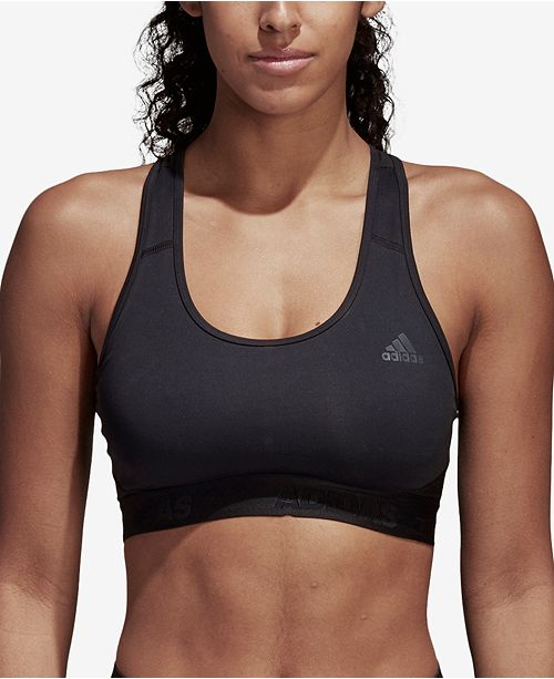 92f4c52320657 adidas AlphaSkin Racerback Medium-Impact Sports Bra   Reviews - All ...