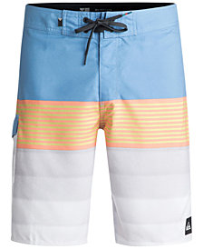 "Quiksilver Men's Division Striped 20"" Boardshorts"