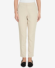 Tommy Hilfiger Twill Skinny Ankle Pants