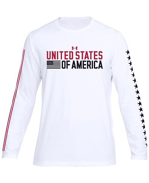 3358a91b61 Top 10 Punto Medio Noticias | Under Armor Usa T Shirt