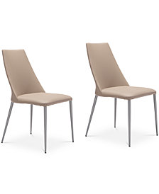 Janai Dining Chair (Set Of 2), Quick Ship