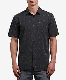 Volcom Men's Trenton Geometric Print Shirt