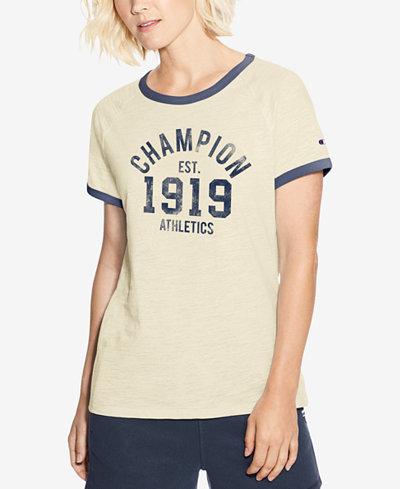 Champion Heritage Graphic Ringer T-Shirt