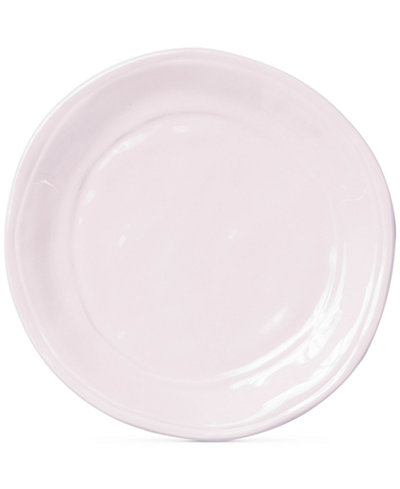 Viva by Vietri Fresh Pink Collection Salad Plate, Created for Macy's