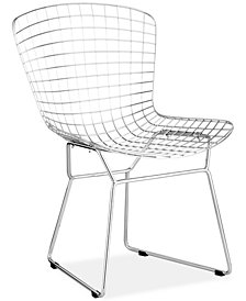 Wire Dining Chair, Quick Ship