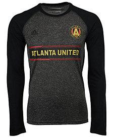 adidas Men's Atlanta United FC Midfielder Raglan Long Sleeve T-Shirt