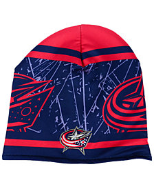 Outerstuff Boys' Columbus Blue Jackets Logo Knit