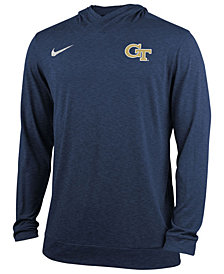 Nike Men's Georgia-Tech Dri-Fit Hoodie