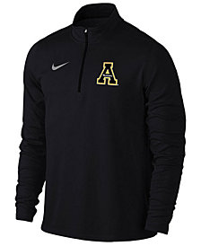 Nike Men's Appalachian State Mountaineers Solid Dri-FIT Element Quarter-Zip Pullover