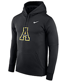 Nike Men's Appalachian State Mountaineers Therma Logo Hoodie