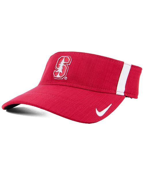 Nike Stanford Cardinal Sideline Aero Visor - Sports Fan Shop By Lids ... 222f71a0661