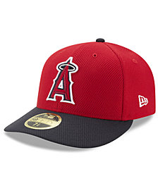 New Era Los Angeles Angels Batting Practice Diamond Era Low Profile 59FIFTY Fitted Cap