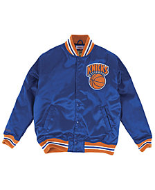 Mitchell & Ness Men's New York Knicks Satin Jacket