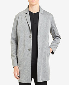 Calvin Klein Men's Knit Trench Coat
