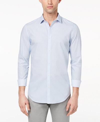 Calvin Klein Men's Infinite Geo-Print Shirt