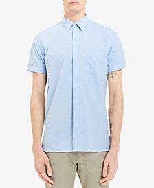 Calvin Klein Men's Gingham Pocket Shirt, Created for Macy's