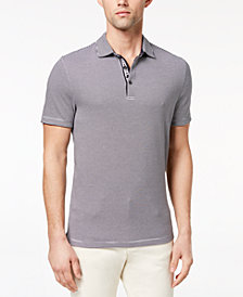 Michael Kors Men's Greenwich Feeder-Stripe Polo